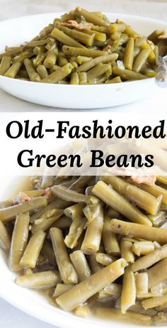 Green Beans with Bacon Green Beans with Bacon,Veggie Recipes Old-Fashioned Green Beans start with bacon and ends with delicious green beans! Who knew canned green beans could taste so good? Cooking Frozen Green Beans, Slow Cooked Green Beans, Seasoned Green Beans, Crockpot Green Beans, Can Green Beans, Green Beans With Bacon, Green Beans And Potatoes, Kfc Green Beans Recipe, Canned Green Bean Recipes