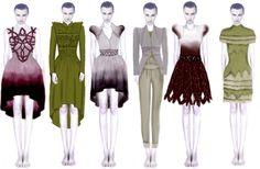 Image found on artsthread.com. Undergraduate illustrative work