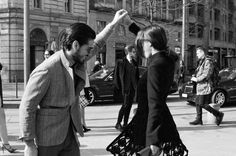Istanbul Style Report: The couples of Fashion Week - Patricia Manfield & Giotto Calendoli