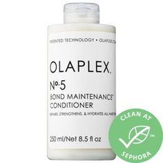Shop Olaplex's No. 5 Bond Maintenance™ Conditioner at Sephora. This conditioner protects and repairs damaged hair, split ends, and frizz. Sephora, Jet Set, Parfum Yves Saint Laurent, Damaged Hair Repair, Coily Hair, Vitis Vinifera, Strong Hair, Perfume, Clean Beauty