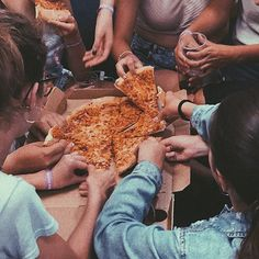They don't like sharing. British Summer, Pizza, College, United Kingdom, England, University, Colleges