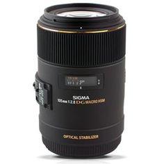 Sigma 105mm f/2.8 EX DG OS HSM Macro Lens for Canon EOS DSLR