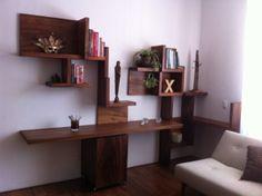 Muebles y decoraci n de madera on pinterest 30 pins - Muebles de escritorio ...