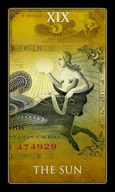 The Sun - The Money Tarot