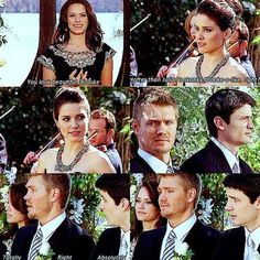 Brooke, Lucas, Haley and Nathan. Such a funny scene!