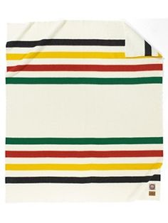 """Classic! Pendleton """"Glacier Park National Park"""" Blanket. Since the early 1900s, Pendleton Woolen Mills has honored America's National Parks with distinctive park blankets. The Glacier Park National Park's historic markings/colors date back to the frontier trading posts."""