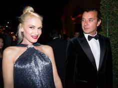 Gwen Stefani and Gavin Rossdale head to toe Ferragamo at the Wallis Annenberg Center for the Performing Arts Inaugural Gala in Beverly Hills