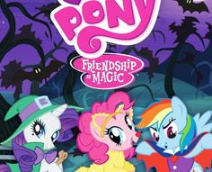 "If you're looking to find the spookiest of episodes of My Little Pony all in one place, look no further than MLP's ""Spooktacular Pony Tales' DVD. Six of the seasons' spookiest episodes are compiled on one disc; with episodes such as ""Luna Eclipsed"" and ""Bats!"" fans of all ages can enjoy this DVD."