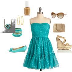 Turquoise!, created by paulette-lanni