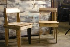DIY Free Rustic Chairs Out of Pallets | Pallet Furniture DIY