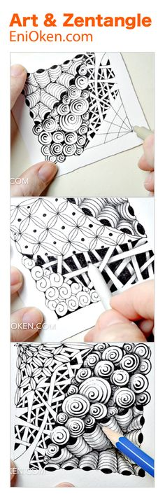 Learning Zentangle®️ • enioken.com