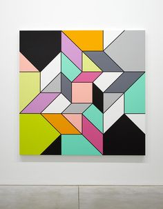 Sarah Morris - M - Museum Leuven
