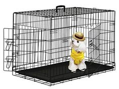 Dog crates are essential, but finding cheap dog kennels for sale is tough. These top best crates for dogs are perfect options for an affordable price! Cheap Dog Cages, Dog Cages For Sale, Extra Large Dog Kennel, Extra Large Dog Crate, Large Dogs, Small Dogs, Dog Crate Tray, Cat Crate, Cheap Dog Kennels