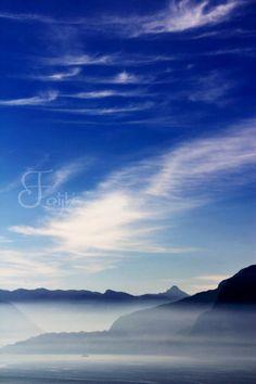 imagination Personal Portfolio, Lake Como, Italy, Clouds, Mountains, Imagination, Travel, Outdoor, Outdoors