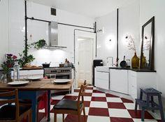 Kök med fina detaljer