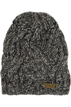 Burberry Shoes & Accessories | Cable-knit wool beanie