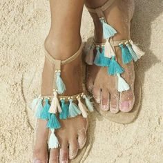 Pretty cute!!! Tassels are the CRAZE right now...Boho Style