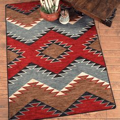 Check out Lone Star Western Decor currently and look at our exceptional array of Southwest rugs, for example this 5 x 8 Heritage Southwestern Rug!