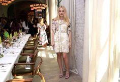 On Wednesday the daughter of actor Stephen Baldwin showed off the benefits of the detox as she posed in white lace at the W magazine It Girl party in New York City. Dakota Fanning, Elle Fanning, Girls Luncheon, White Lace, White Dress, W Magazine, Hailey Baldwin, Star Fashion, Alexander Mcqueen
