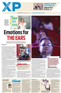 Emotions for THE EARS -- The NATION's XP, July 17, 2014 #TheNation