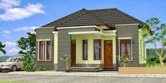 Gambar Desain Rumah Sederhana Ala Pedesaan v5