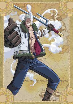 Smoker - One Piece by Read One Piece Manga, One Piece Series, One Piece 1, One Piece Anime, Smoker One Piece, Nico Robin, One Piece All Characters, One Piece Seasons, Smoker Designs