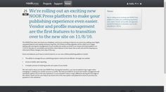 B&N to Merge Nook Press Print eBooks Platforms on 8 November