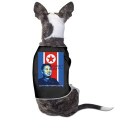TvT Kim Jong-un Funny Flag Dog Apparel >> Don't get left behind, see this great dog product : Dog Cold Weather Coats