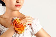 Yu-Ping Lin Textile Jewellery 'coral reef' bracelet