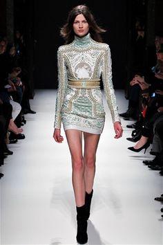 Balmain dress. More on the blog ;)