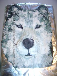 Cool Realistic Wolf Cake For My Daughter ... This website is the Pinterest of birthday cakes