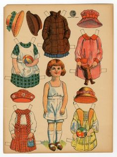 77.5223: paper doll | Paper Dolls | Dolls | National Museum of Play Online Collections | The Strong