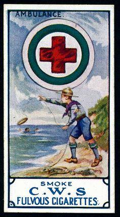 Cigarette Card - Boy Scouts Badges by cigcardpix, via Flickr