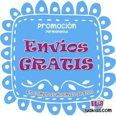 Envío gratis en compras mínimas de $700 pesos mexicanos