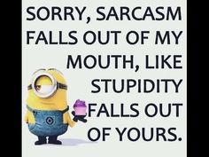 Minion Style: Good Comebacks And Insults