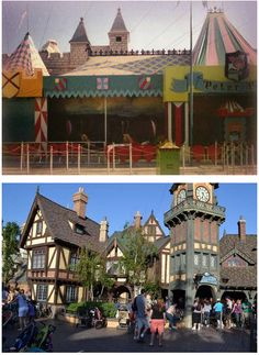 1983 - Fantasyland Overall Renovations (Peter Pan Shown)