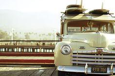 laola-spoora: Iconos del surf | Los Woody Wagons y otros vehículos surferos