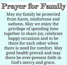 Prayer for Family                                                                                                                                                                                 More