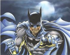Batman by Neal Adams #NealAdams #Batman #BruceWayne #TheDarkKnight #Gotham #JL #JusticeLeague