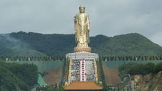 Spring Temple Buddha (Tallest Statue in the World at 682 ft high), Zhaocun township of Lushan County, Henan, China
