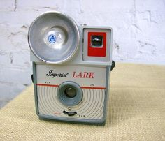 Imperial Lark 127 camera with red window