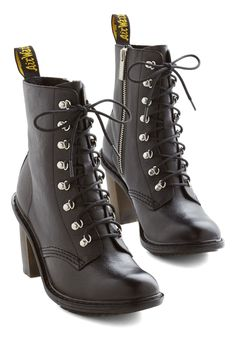 Struts the Two of Us Boot. Step into a world of sophisticated style with these black ankle boots from Dr. #black #modcloth