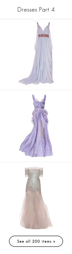 """""""Dresses Part 4"""" by ilovecats-886 ❤ liked on Polyvore featuring dresses, gowns, long dresses, purple, elie saab, satinee, long purple dress, elie saab ball gown, purple dresses and elie saab evening dresses"""