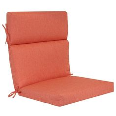 SONOMA Goods for Life™ Indoor Outdoor Reversible Chair Cushion, Red