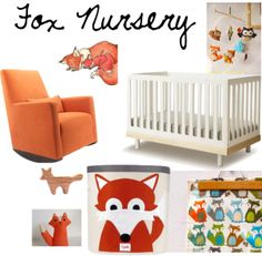 Fox Themed Nursery -if this is a baby boy
