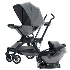Finally have the grey color I wanted in the carseat. Matches my stroller....think I want to sell mine in brown and get this one!!!