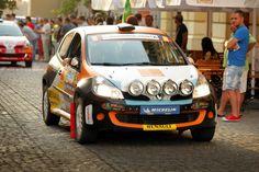 Alex Filip la startul festiv Sibiu Rally 2012/ Alex Filip, ceremonial start Sibiu Rally 2012