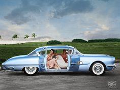 1954 pontiac bonneville special.  Classic Car Art&Design @classic_car_art #ClassicCarArtDesign