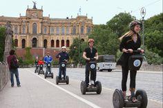 München mit dem #Segway erfahren. Wir machen es möglich und du kannst die Touren direkt online buchen.