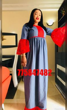 African Fashion Dresses, African Dress, Hijab Fashion, Fashion Outfits, Demin Dress, Africans, Abayas, Mode Inspiration, Amy